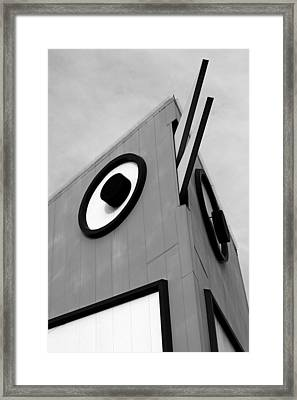 Kfc's Big Chicken II Framed Print by Daniel Woodrum