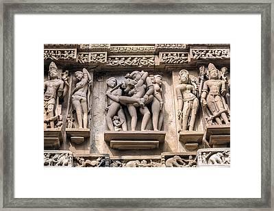Khajuraho - India Framed Print
