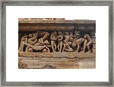Khajuraho Temples-1 Framed Print