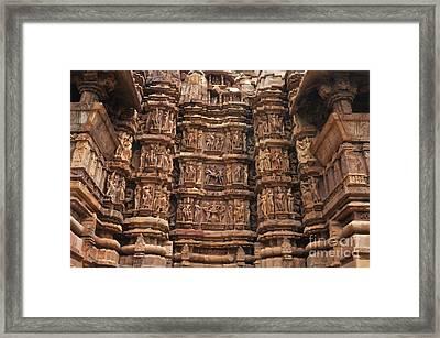 Khajuraho Temples 2 Framed Print