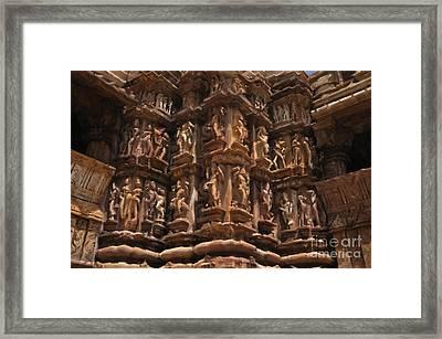 Khajuraho Temples 3 Framed Print