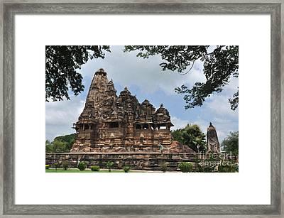 Khajuraho Temples 4 Framed Print