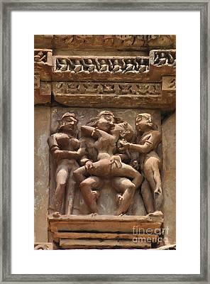 Khajuraho Temples 5 Framed Print