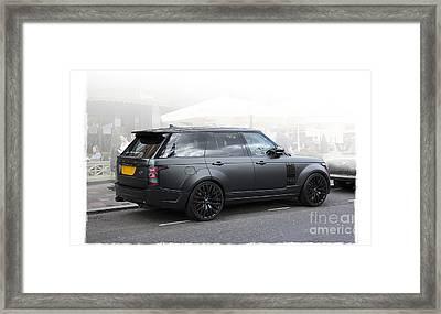 Khan Range Rover Framed Print