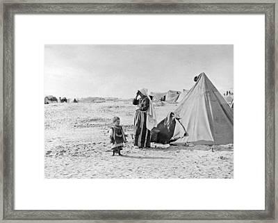 Khan Younis Camp In Gaza Framed Print