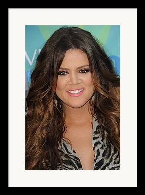 2011 Teen Choice Awards - Arrivals Framed Prints