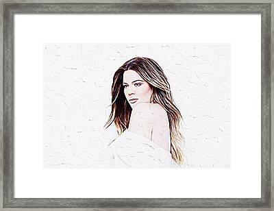 Khloe Kardashian Framed Print