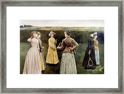 Khnopff: Memoires, 1889 Framed Print by Granger
