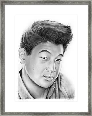 Ki Hong Lee Framed Print
