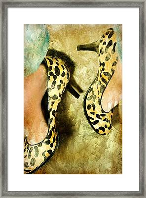 Kick Off Framed Print by Diana Angstadt