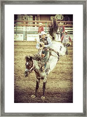 Kicks Framed Print by Caitlyn Grasso