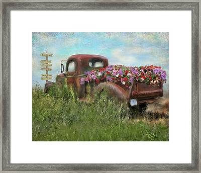 Kicks On Route 66 Framed Print