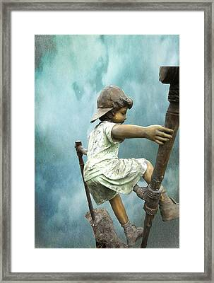 Kid 13 Framed Print by Dale Stillman