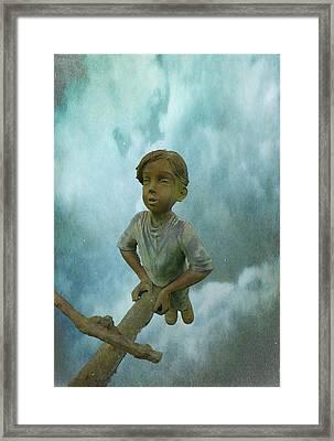 Kid 7 Framed Print by Dale Stillman