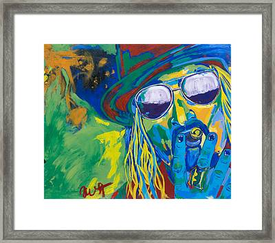 Kid Rock Framed Print