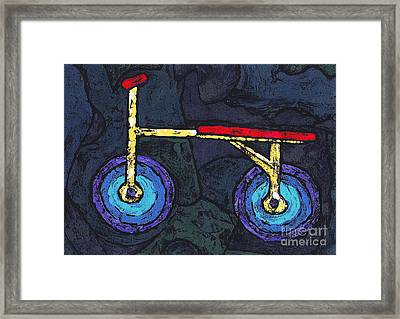 Kidde Car Framed Print