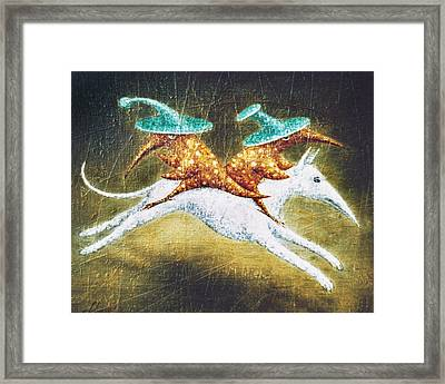 Kidnapping Framed Print by Lolita Bronzini