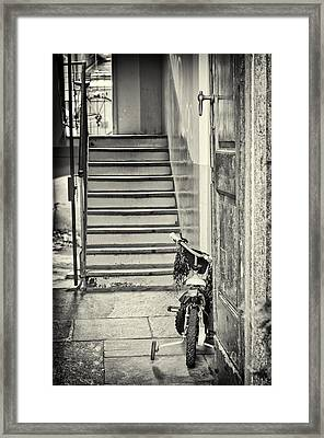 Kid's Bike Framed Print