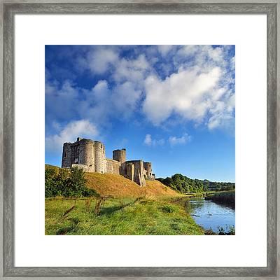 Kidwelly Castle 1 Framed Print