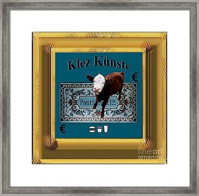Kiez Kunste Framed Print by Geordie Gardiner