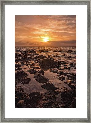 Kihei Sunset 2 - Maui Hawaii Framed Print by Brian Harig