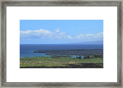 Framed Print featuring the photograph Kiholo by Pamela Walton