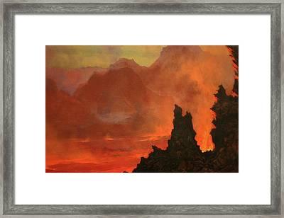 Kilauea Caldera Framed Print