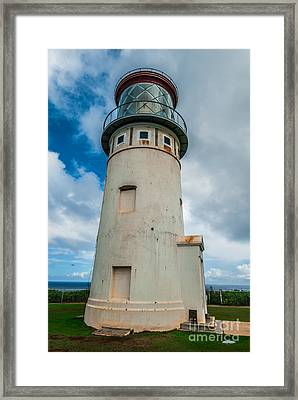 Kilauea Lighthouse Framed Print