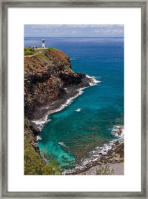 Kilauea Lighthouse Framed Print by Roger Mullenhour