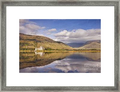 Kilchurn Castle And Loch Awe Framed Print by Colin and Linda McKie