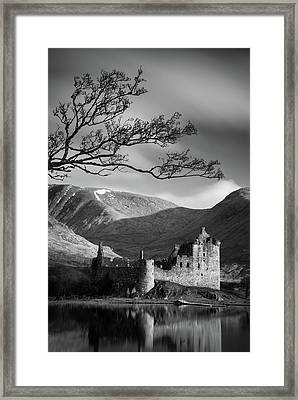 Kilchurn Castle Framed Print by Dave Bowman