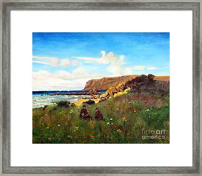 Kildonan  Framed Print by MotionAge Designs