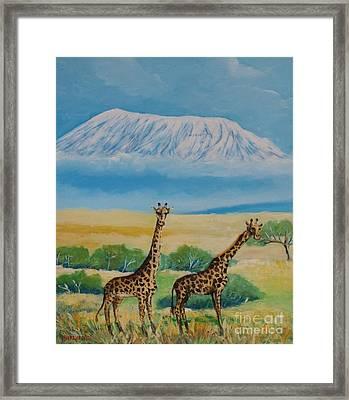 Kilimandjaro Framed Print