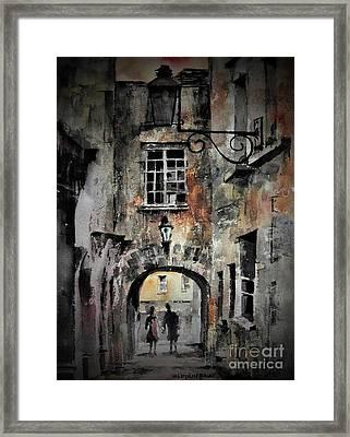Kilkenny Butterslip  Framed Print