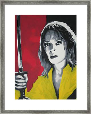 Kill Bill 2013 Framed Print by Luis Ludzska