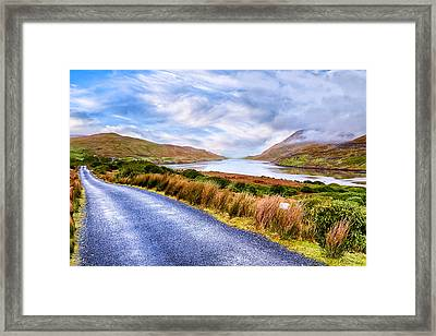 Killary Fjord In Ireland's Connemara Framed Print by Mark E Tisdale