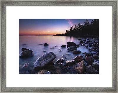 Killbear Sunset Framed Print by Cale Best