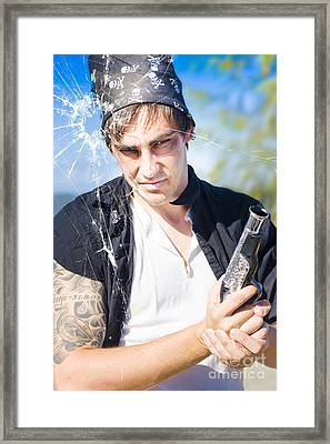 Killer Pirate Framed Print by Jorgo Photography - Wall Art Gallery