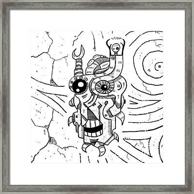 Killer Robot Framed Print