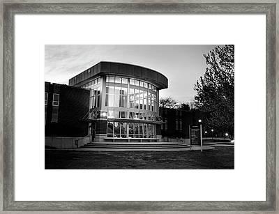 Killian Annex At Night In Black And White Framed Print