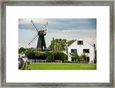 Killicks Mill Meopham Kent Uk Framed Print by Donald Davis