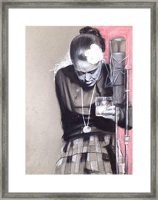 Killing Billie Holiday Framed Print