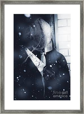 Killing In Cold Blood Framed Print