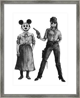 Killing The Lie Framed Print by Phil Spaulding
