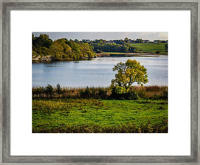 Killone Lake In County Clare, Ireland Framed Print