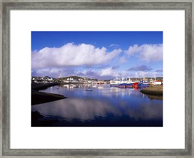 Killybegs, Co Donegal, Ireland Framed Print by The Irish Image Collection