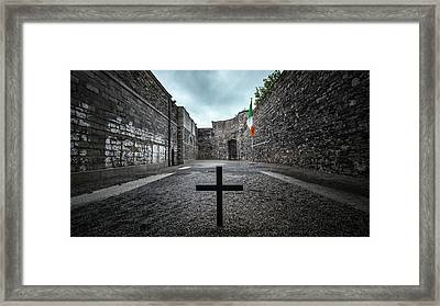 Kilmainham Gaol - Dublin, Ireland - Travel Photography Framed Print