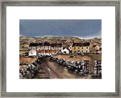 Kilmurvey Inishmore Aran Framed Print
