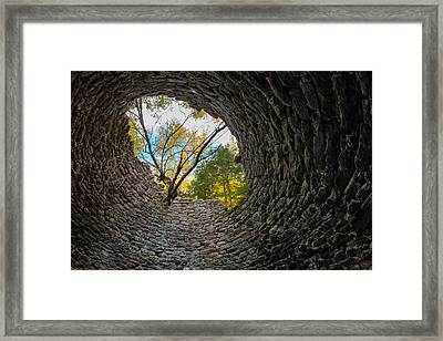 Kiln's Eye Framed Print