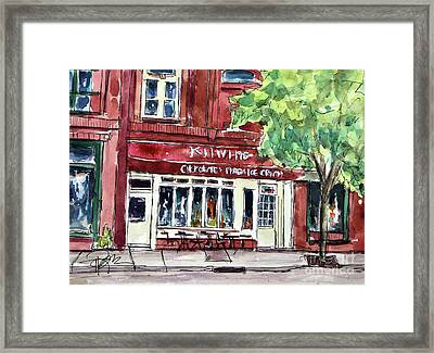 Kilwins On Main Framed Print